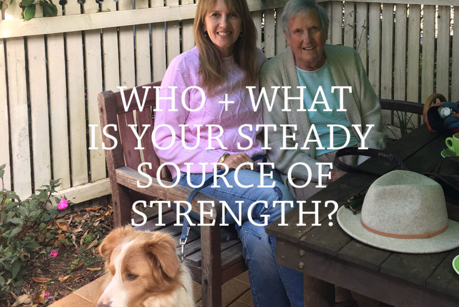 How can you find your steady source of strength?